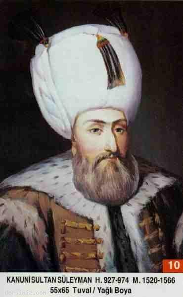 10- Kanuni Sultan Süleyman Han (Kısaca)