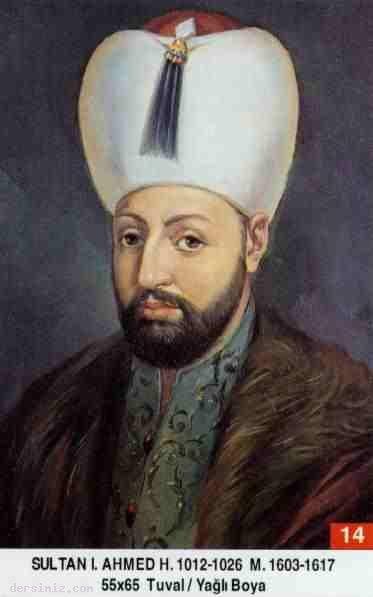 14- Sultan Birinci Ahmed Han