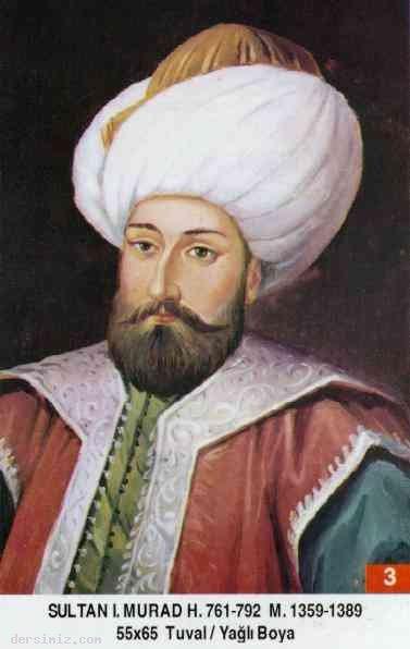 3- Sultan I. Murad Hüdavendigar Han (Kısaca)