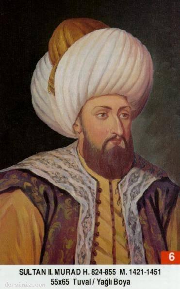 6-Sultan İkinci Murat
