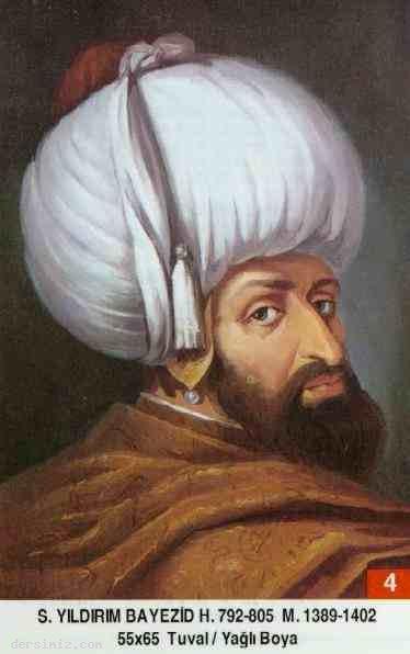 4- Sultan Yıldırım Bayezid Han (Kısaca)