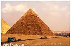 Mısır piramitleri hakkında ilginç bilgiler